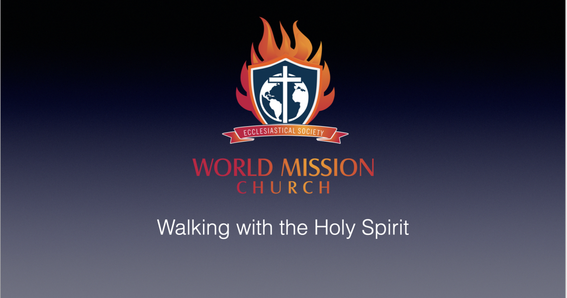 Walking with the Holy Spirit