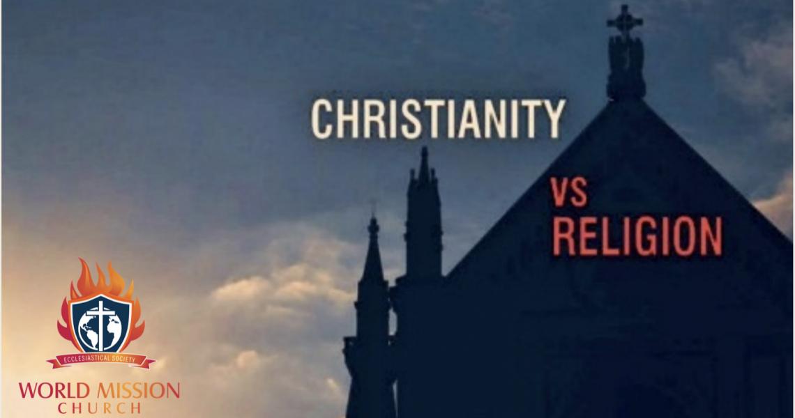 True Christianity vs. 'Churchianity' vs. Religion